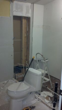 Complete Bath Remodels - before