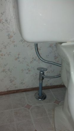 Toilet Repiping - Before
