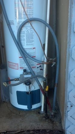 Water Heater Repiping - Before