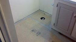 Toilet Floor Repair Replacement - after