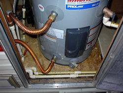 Water Heater Replacement and Repair - Before